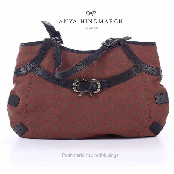 Anya Hindmarch Handbags - NEW AUTH Anya Hindmarch Brown Boho Shoulder Bag